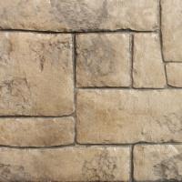 Closeup Photo Of A Appian Cobble Concrete Stamp.