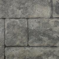 Closeup Photo Of An Ashlar Cut Stone Concrete Stamp.