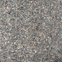 Closeup Photo Of An Exposed Aggregate Concrete Pattern.