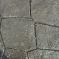 Closeup Photo Of A Luccia Stone Concrete Stamp.