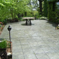 Tile Stamped Concrete