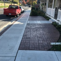 Village Of East Davenport Sidewalk Insert