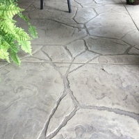 Arizona Stone Stamped Veranda