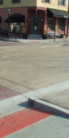 Municipal Concrete - Concrete Sidewalk Created By Kelly Designs In Concrete In Davenport, Iowa