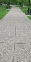 Walkway In Park Created By Kelly Designs In Concrete