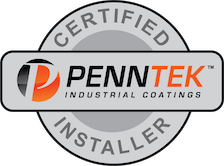 Certified Penntek Installer logo