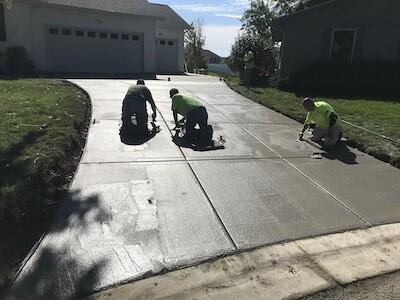 Concrete Replacement - Concrete Driveway