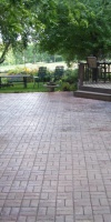 Residential Concrete - Stamped Concrete Patio