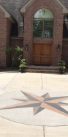 Residential Concrete - Stamped Concrete Driveway
